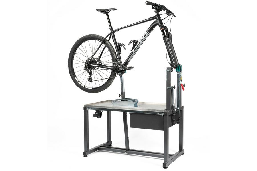 Supporto manutenzione bici